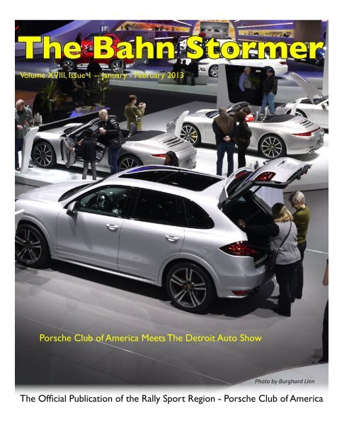 January-February 2013 Bahn Stormer - Rally Sport Region