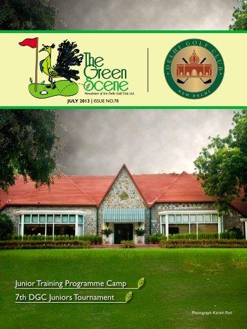 issue no-78 - july-2013 - The Delhi Golf Club