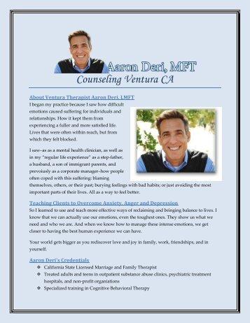 Counseling Ventura CA