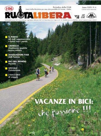 ruotalibera 106.qxd - Amici della Bicicletta di Verona