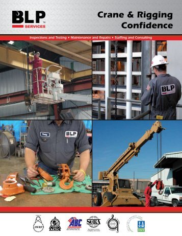 BLP Services - Bishop Lifting Products, Inc.