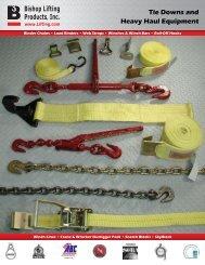 Tie Down Catalog