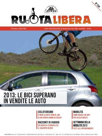 2013: lE bici superaNO in Vendite le auto - Amici della Bicicletta di ...