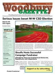 to view the May 10, 2012 issue as a PDF. - Woodbury Gazette