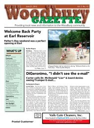 Welcome Back Party at Earl Reservoir - Woodbury Gazette