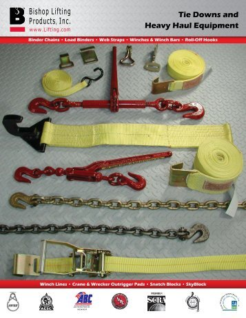 Tie Downs - Bishop Lifting Products, Inc.