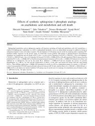 Effects of synthetic sphingosine-1-phosphate ... - ResearchGate