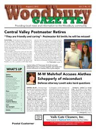 to view the August 2, 2012 issue as a PDF. - Woodbury Gazette