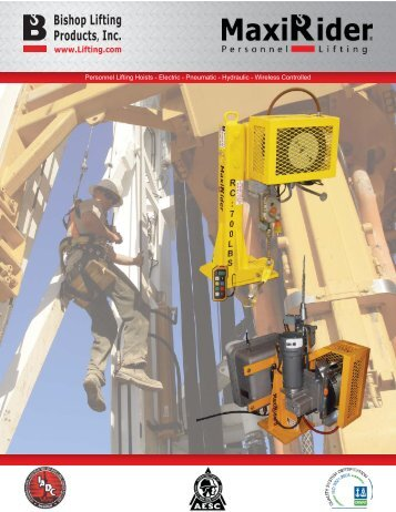 Personnel Lifting Hoists - Electric - Pneumatic - Hydraulic - Wireless ...