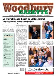 to view the November 15th issue. - Woodbury Gazette