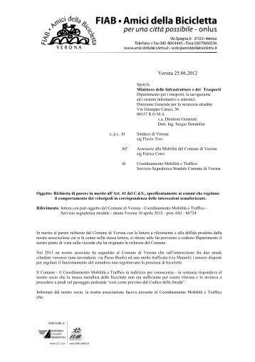 DOCUMENTO 6 pdf - Amici della Bicicletta di Verona