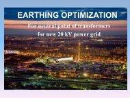 EARTHING OPTIMIZATION