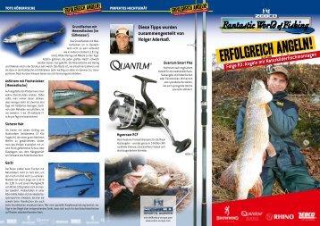 Angeln mit Naturkoederfischmontagen