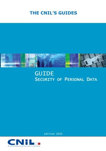 Guide security of personal data-2010