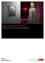 alpha exclusive®, impuls Exkluzivní a stylové doplňky