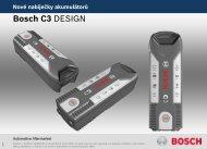 Bosch C3 DESIGN - CRU Servis