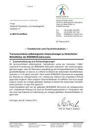 BIOEMSAN Zahncreme Testbericht - Multikraft