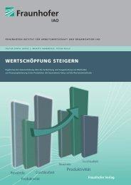 Wertschöpfung steigern - Wertstrom-Engineering