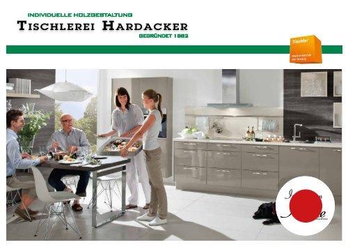 Inspiration Küche - Das Kundenmagazin der Tischlerei Hardacker