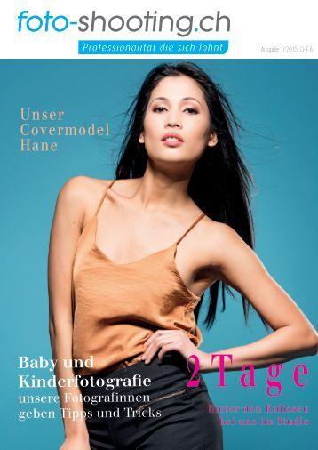 Fotoshooting Magazin - Das Kundenjournal