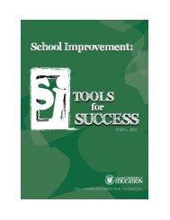 School Improvement - Louisiana Department of Education