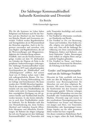 kulturelle Kontinuität und Diversität1 - Salzburger Volksliedwerk