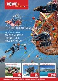 REWE Reisen Prospekt April 2015