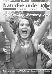 Naturfreunde Programm 2012 - Naturfreunde Nürnberg