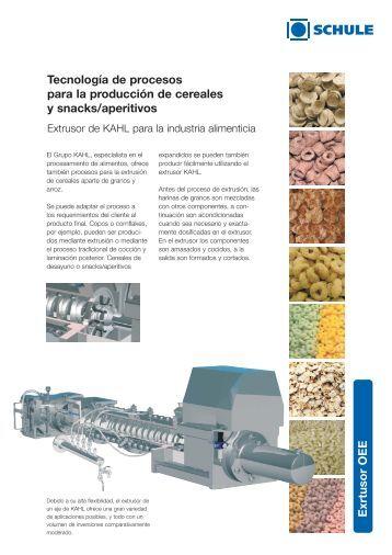 Productos trenzados gran for Procesos de produccion de alimentos