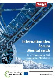 Programm IFM 2012 - Standortagentur Tirol