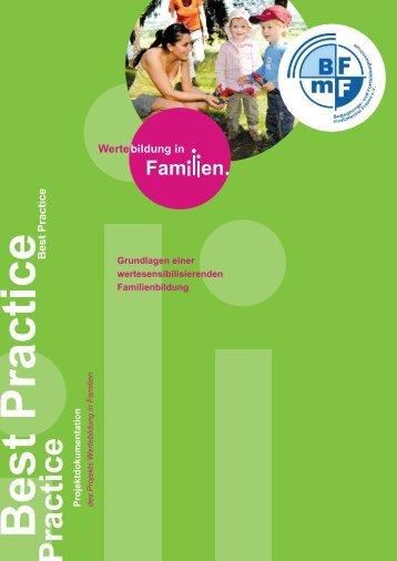 Nordrhein-Westfalen - Wertebildung in Familien