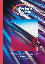 SPECIALIST EXHAUST PRODUCTS - Western Tydens