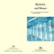 Bachelor und Master - Universität Ulm