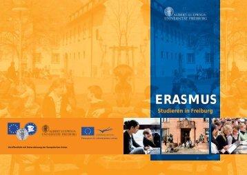 ERASMUS - Studieren in Freiburg - Fakultät für Biologie - Albert ...