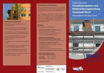 Flyer - Wesel