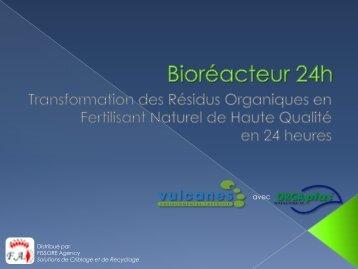 Bioréacteur 24h - FISSORE Agency