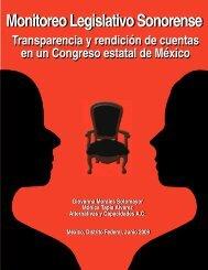 Monitoreo Legislativo Sonorense - Alternativas y Capacidades