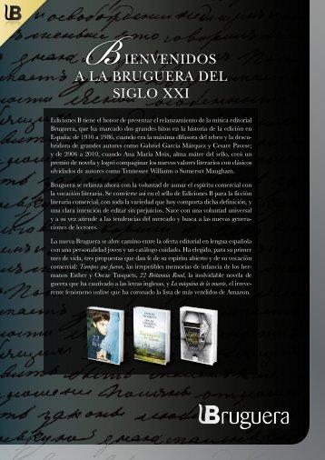 Bienvenidos a la Bruguera del siglo XXi - Ediciones B
