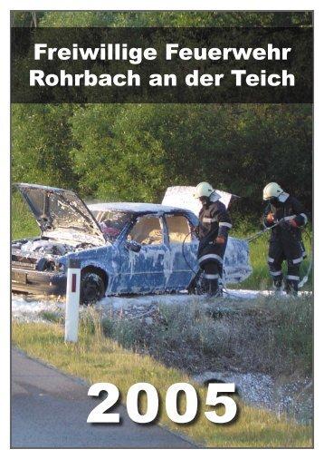 Ausrüstung - Freiwillige Feuerwehr Rohrbach an der Teich