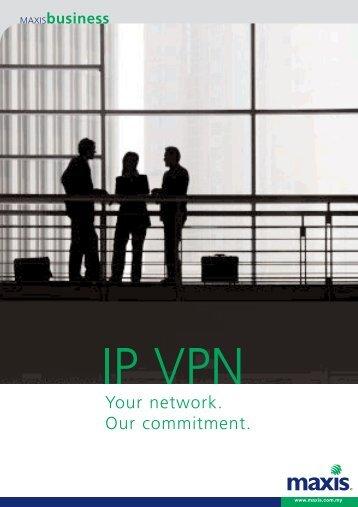 Maxis IP VPN Brochure