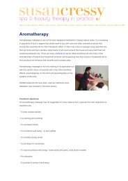Introduction To Aromatherapy - Susan Cressy