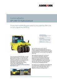 Prospekt AP240H Pneuradwalze