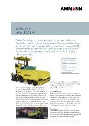 Radfertiger AFW 500 E/G