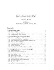 Getting Started with LATEX - Atmospheric Chemistry and Physics