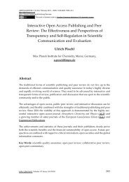 Interactive Open Access Publishing and Peer Review - Atmospheric ...