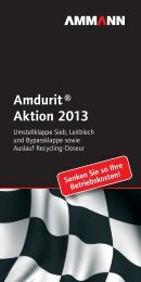 Amdurit ® Aktion 2013 - Ammann Group