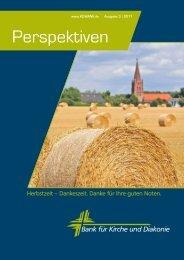 Perspektiven Ausgabe 3/2011.pdf - KD-Bank
