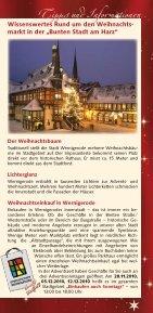 Wernigeröder Schloßbahn Tel. (0  39 43) - Stadt Wernigerode - Seite 7