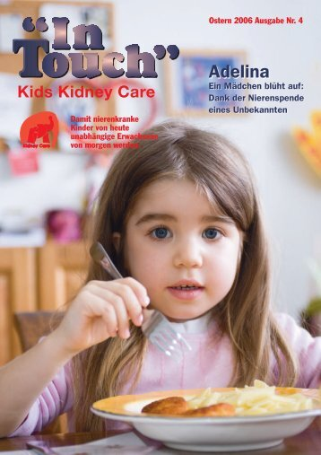 In Touch® Nr. 4 - Kids Kidney Care