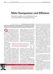 Mehr Transparenz und Effizienz - Atmospheric Chemistry and Physics
